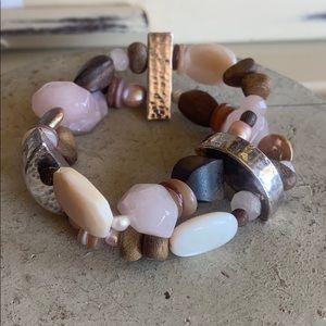 Beautiful Silpada Stretch Bracelet